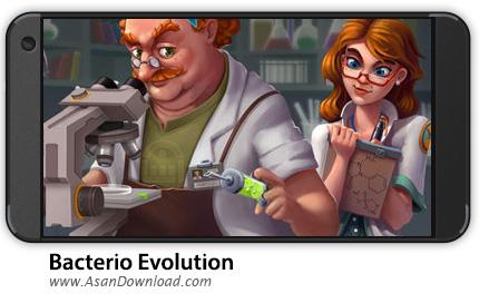 دانلود Bacter.io Evolution v3.16.0 - بازی موبایل تکامل باکتری + نسخه بی نهایت