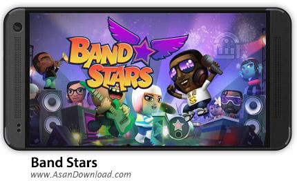 دانلود Band Stars v1.9.0 - بازی موبایل موزیکال گروه ستاره + دیتا