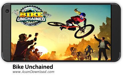 دانلود Bike Uchained v1.16 - بازی موبایل دوچرخه سواری آزاد + دیتا