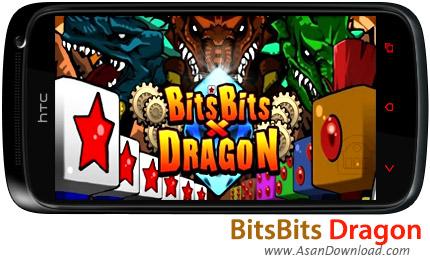 دانلود BitsBits Dragon v1.0.1 - بازی موبایل نبرد با اژدها و نجات انگلستان