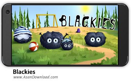 دانلود Blackies v2.6.18 - بازی موبایل پرش های پیاپی + نسخه بی نهایت