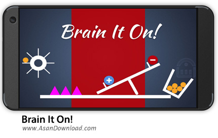 دانلود Brain It On - Physics Puzzles v1.4.6 - بازی موبایل چالش مغز + نسخه بی نهایت