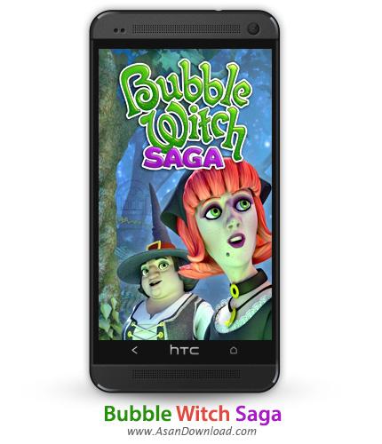 دانلود Bubble Witch 2 Saga v1.8.4 - بازی موبایل حباب جادوگر
