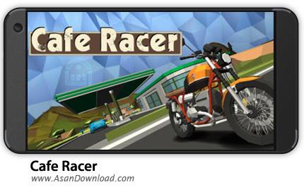 دانلود Cafe Racer v1.021 - بازی موبایل موتور سواری + نسخه بی نهایت