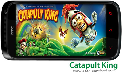 دانلود Catapult King - بازی موبایل نجات شاهزاده شهر منجنیق ها