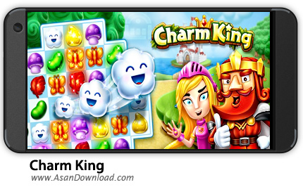 دانلود Charm King v2.25.0 - بازی موبایل پادشاه افسون + نسخه بی نهایت