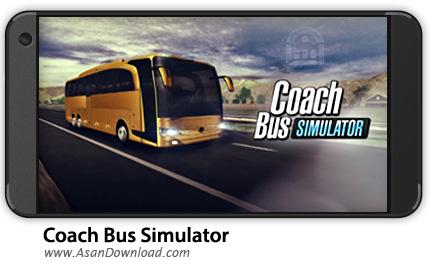 دانلود Coach Bus Simulator v1.6.0 - بازی موبایل شبیه ساز اتوبوس + نسخه بی نهایت