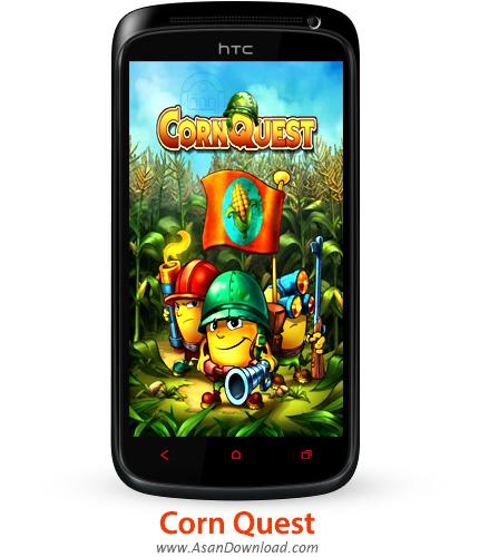 دانلود Corn Quest v1.0 - بازی موبایل دنیای ذرت ها