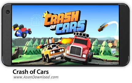 دانلود Crash of Cars v1.1.73 - بازی موبایل نبرد ماشین ها + نسخه بی نهایت