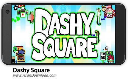 دانلود Dashy Square v2.01 - بازی موبایل پرواز موجودات