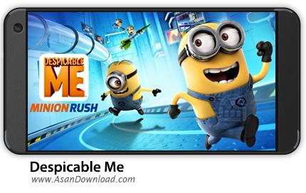 دانلود Minion Rush: Despicable Me Official Game v5.2.1e - بازی موبایل من نفرت انگیز + نسخه بی نهایت
