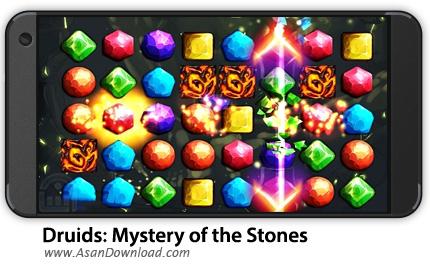 دانلود Druids: Mystery of the Stones v1.0 - بازی موبایل راز سنگ ها