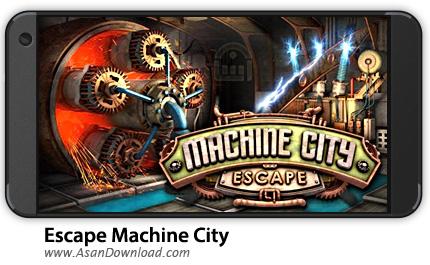 دانلود Escape Machine City v1.26 - بازی موبایل فرار از شهر ماشینی + نسخه بی نهایت