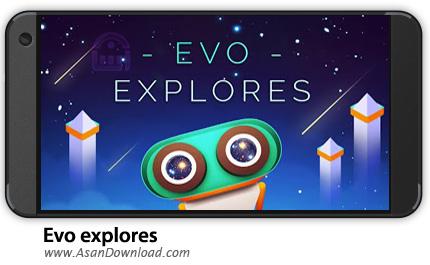 دانلود Evo Explores v1.3.4.0 - بازی موبایل ماجراجویی اوو + نسخه بی نهایت