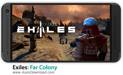 دانلود Exiles: Far Colony v2.5.1 - بازی موبایل تبعیدگاه فضایی + دیتا + نسخه بینهایت