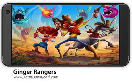 دانلود Ginger Rangers v3.8 - بازی موبایل تفنگداران گینگر + نسخه بی نهایت