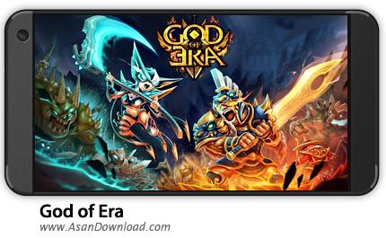 دانلود God of Era: Epic Heroes War v0.1.32 - بازی موبایل نبرد قهرمانان + نسخه بی نهایت