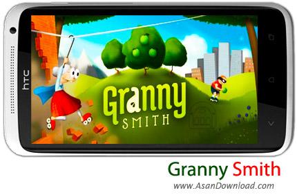 دانلود Granny Smith v1.0.0 - بازی موبایل مادربزرگ اسکیت سوار