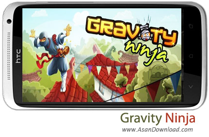 دانلود Gravity Ninja v1.02 - بازی موبایل نینجا