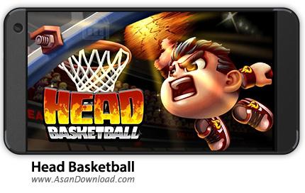 دانلود Head Basketball v1.2.5 - بازی موبایل بسکتبال کله ای + نسخه بی نهایت