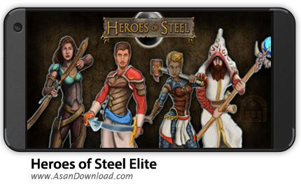 دانلود Heroes of Steel Elite v4.2.65 - بازی نبرد قهرمانان + نسخه بی نهایت
