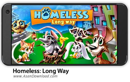 دانلود Homeless: Long Way v1.022 - بازی موبایل بی خانمان ها + نسخه بی نهایت