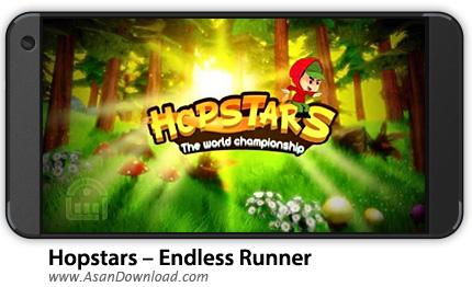 دانلود Hopstars - Endless Runner v1.3.2 - بازی موبایل هاپ استار + نسخه بی نهایت