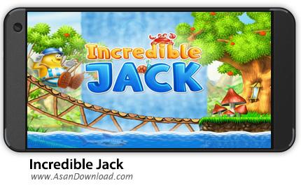 دانلود Incredible Jack v1.3.1 - بازی موبایل جک شگفت انگیز + نسخه بی نهایت