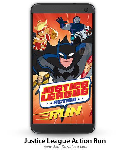 دانلود Justice League Action Run v1.21 - بازی موبایل عدالت جویان + نسخه بی نهایت + دیتا