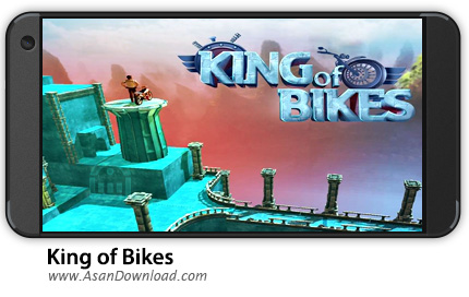 دانلود King of Bikes v1.3 - بازی موبایل پادشاه دوچرخه + نسخه بی نهایت