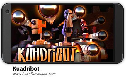 دانلود Kuadribot v1.0.0 - بازی موبایل نبرد ربات ها + نسخه بی نهایت