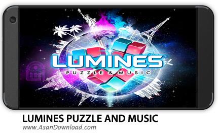 دانلود LUMINES PUZZLE AND MUSIC v1.3.11 - بازی موبایل پازل لومینز