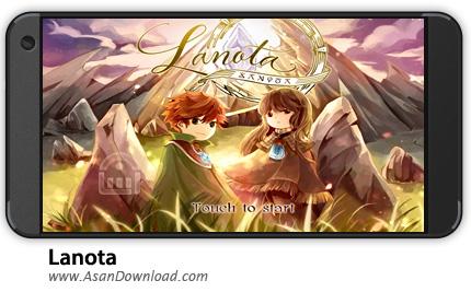 دانلود Lanota v1.1.1 - بازی موبایل لانوتا + نسخه بی نهایت + دیتا