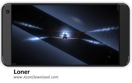 دانلود Loner v1.4.1 - بازی موبایل خلبان تنها + نسخه بی نهایت