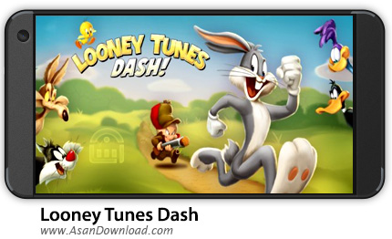 دانلود Looney Tunes Dash v1.69.23 - بازی موبایل دوندگی لونی تونز + نسخه بی نهایت