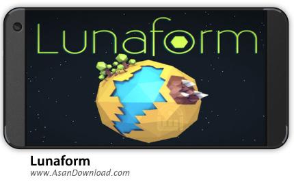 دانلود Lunaform v1.0 - بازی موبایل لونافرم مکعب ها + نسخه بی نهایت