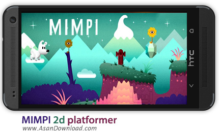 دانلود MIMPI 2d platformer v1.1.1 - بازی موبایل میمپی، سگ بازیگوش + دیتا