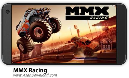 دانلود MMX Racing v1.16.9320 - بازی موبایل رالی ماشین های سنگین + دیتا + نسخه بی نهایت