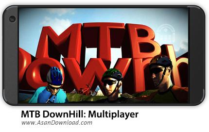 دانلود MTB DownHill: Multiplayer v1.0.10 - بازی موبایل دوچرخه سواری + نسخه بی نهایت