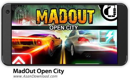 دانلود MadOut Open City v7.0 - بازی موبایل دیوانگی در شهر + نسخه بی نهایت + دیتا