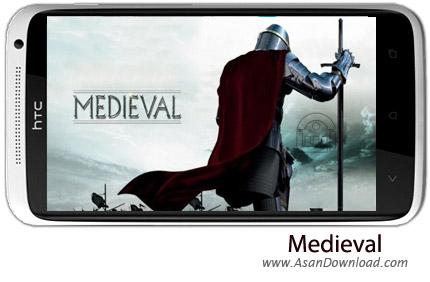 دانلود Medieval v2.9 - بازی موبایل قرون وسطی جنگ قلعه ها