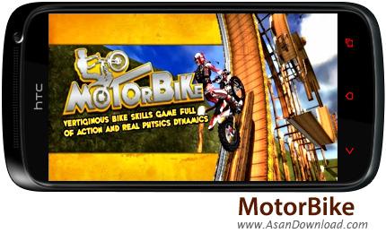 دانلود MotorBike - بازی موبایل پرش با موتور کراس