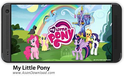 دانلود My Little Pony v2.8.0m - بازی موبایل اسب کوچک من پانی + نسخه بینهایت