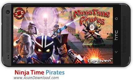 دانلود Ninja Time Pirates v1.0.1 - بازی موبایل نینجای غارتگر + دیتا و نسخه بینهایت