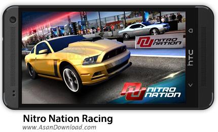 دانلود Nitro Nation Racing v3.2.1 - بازی موبایل مسابقات ماشین سواری نیترو + دیتا