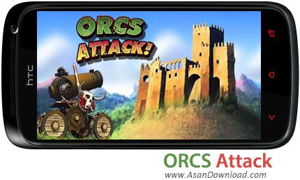 دانلود Orcs Attack v1.0.46 - بازی موبایل حمله قبیله اورک ها
