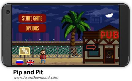 دانلود Pip and Pit v1.0.4 - بازی موبایل پیپ و سیاهچال + نسخه بی نهایت