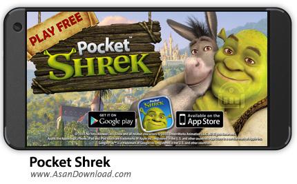 دانلود Pocket Shrek v2.04 - بازی موبایل ماجراجویی های شرک + نسخه بی نهایت + دیتا