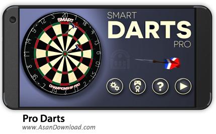 دانلود Pro Darts 2017 v1.17 - بازی موبایل دارت حرفه ای