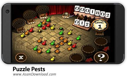 دانلود Puzzle Pests v1.0 - بازی موبایل پازل حشرات